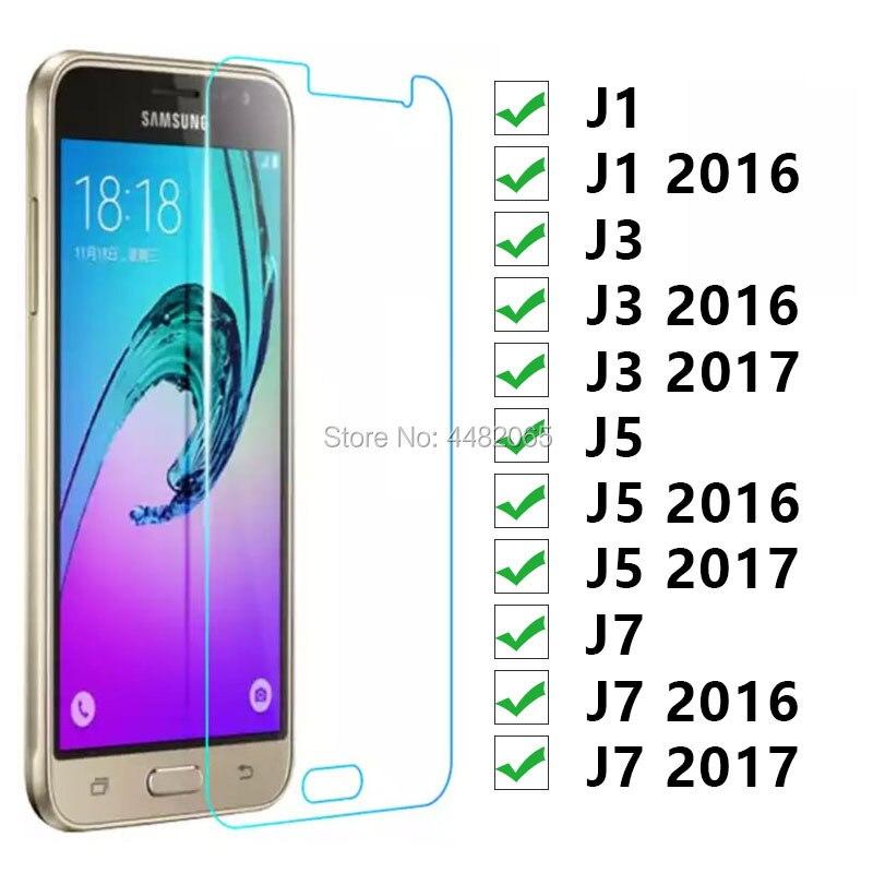 Protector de cristal para Samsung J1 J3 J5 J7 2016 de 2017...
