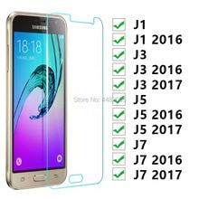 Protective Glass For Samsung J1 J3 J5 J7 2016 2017 Tempered Glas On The Galaxy J 1 3 5 7 1j 3j 5j 7j