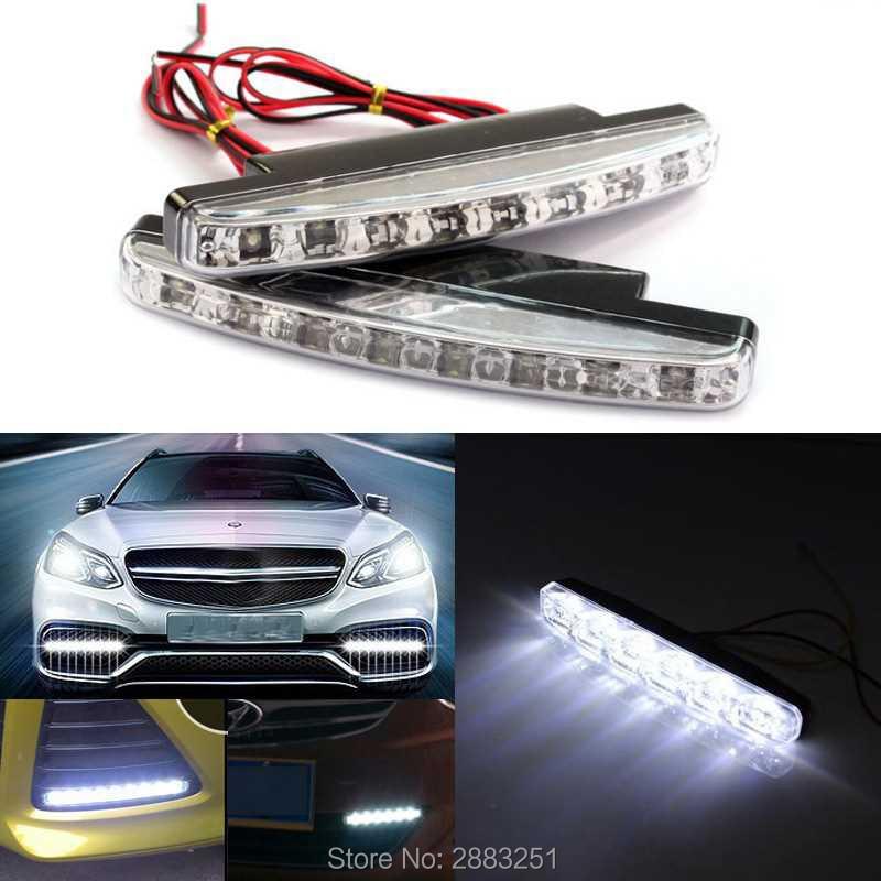 DC12v impermeable LED coche luz de día lámpara para suzuki swift grand vitara jimny sx4 s-cross ignis alto swift accesorios