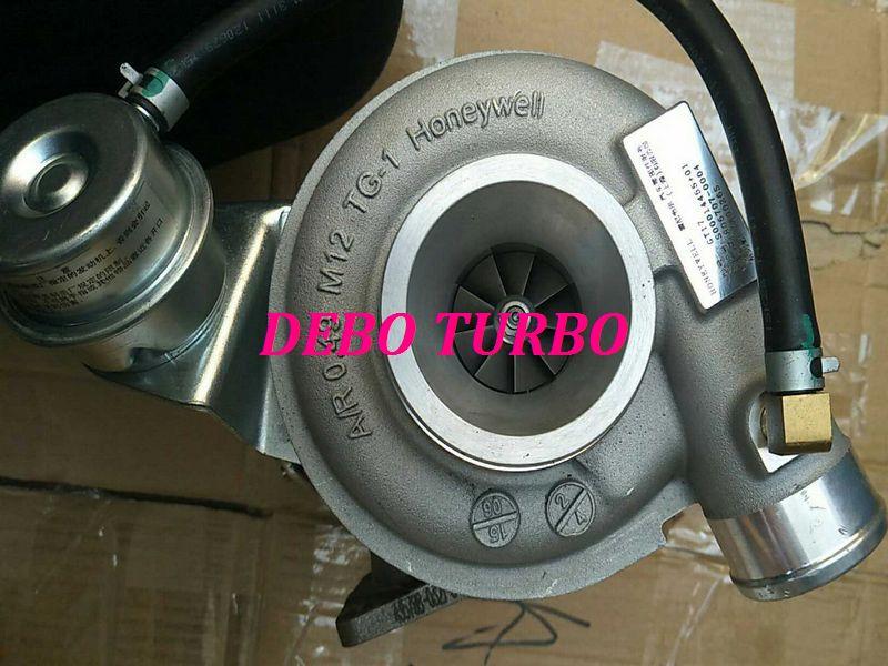 Nuevo genuino GARRETT GT17 806707-5004S S00014455 + 01 Turbo turbocompresor para SAIC MAXUS V80 SCR VM 2.8L 100KW 136HP Euro IV