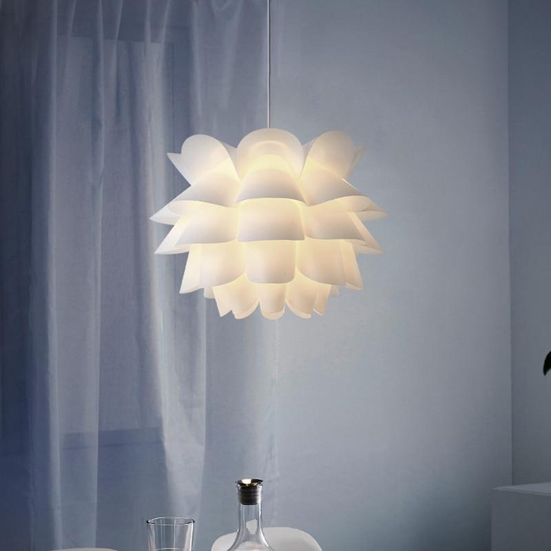 Salón/dormitorio, techo lámpara colgante luz pantalla Lotus Bohemia decoración (asamblea)