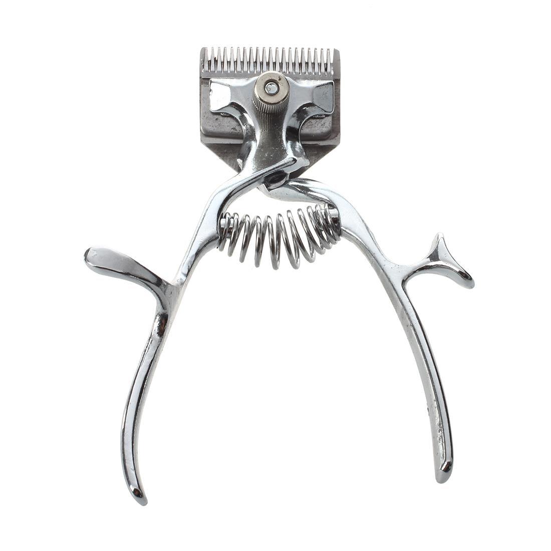 Los piojos Moda Antigua Manual cortadora de corte de pelo mano empuje bajo ruido no eléctricos de corte de pelo