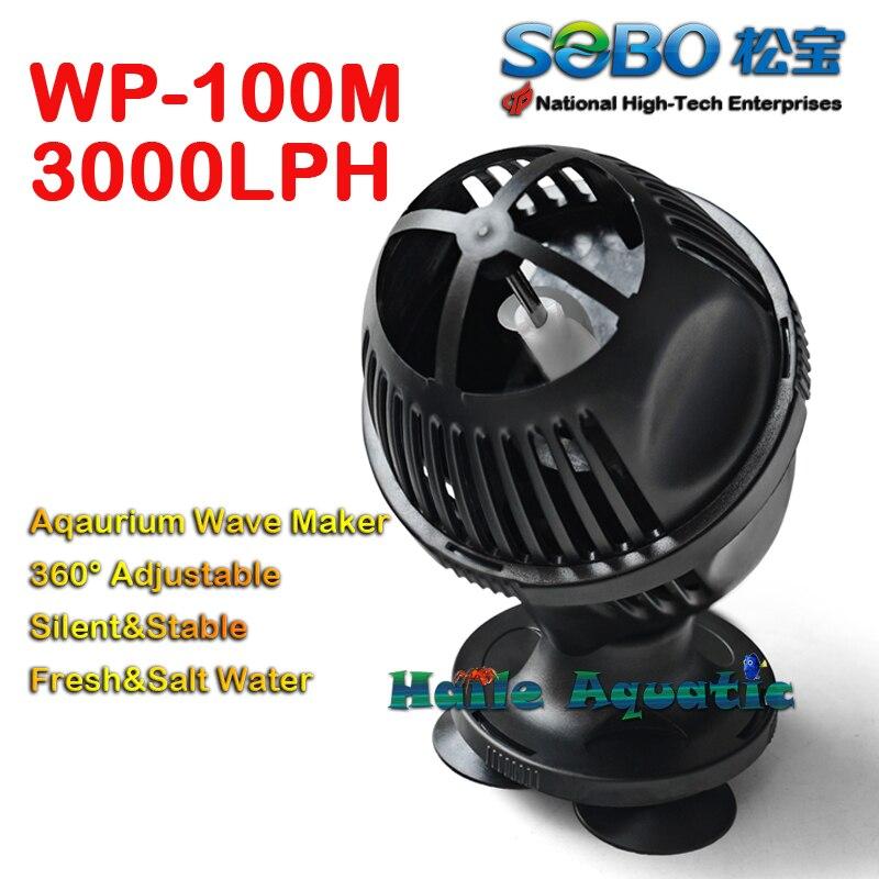 Sobo WP-100M fabricante de ondas aquário tanque de peixes bomba powerhead recife marinho coral filtro