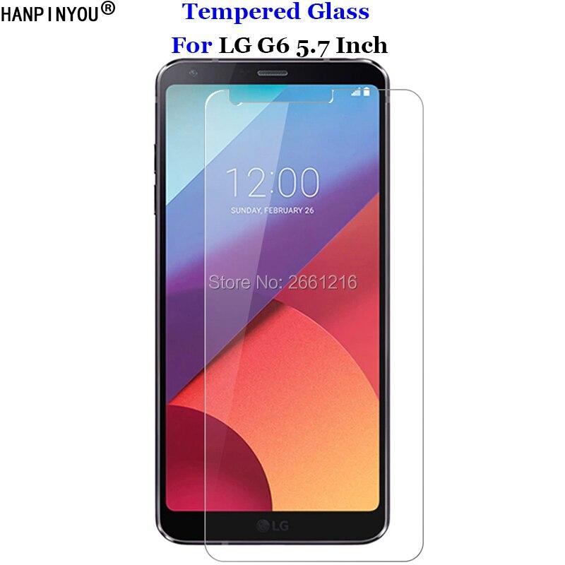 Para LG G6 Plus de vidrio templado 9 H 2.5D Premium Protector de pantalla Film para LG G6 H870 H870K H871 H872 h873 H870DS LS993 US997 VS998