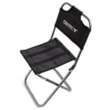 Mountaineering Outdoors Folding Chair Aviation Aluminium Alloy Backchair Son Go Fishing Chair Train Stool Ma Zhi