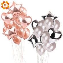 14 stücke 12 zoll 18 zoll Multi Air Ballons Geburtstag Party Helium Ballon Dekorationen Hochzeit Festival Balon Partei Liefert