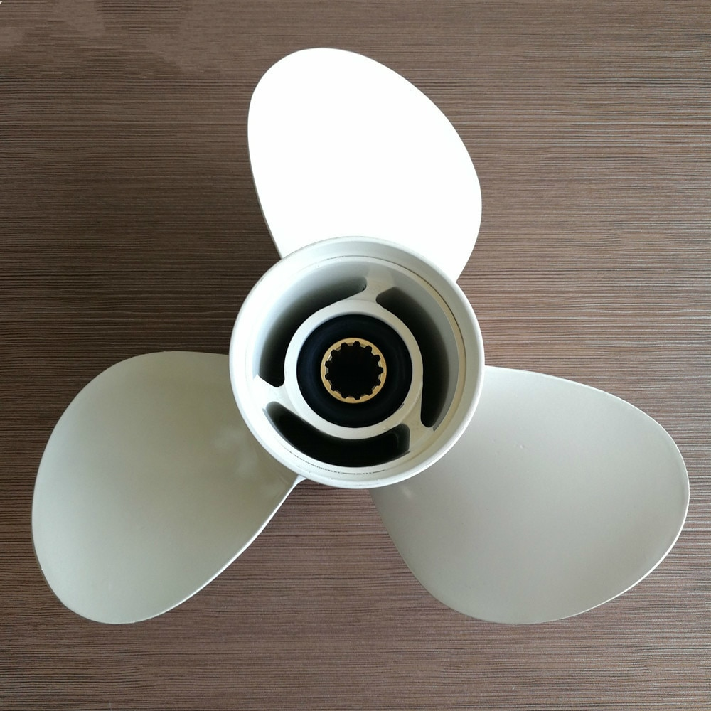 40-50HP Outboard Propeller 11 1/8 X 13-G For Yamaha 40-60HP 69W-45945-00-EL Marine Propeller Boat Pa