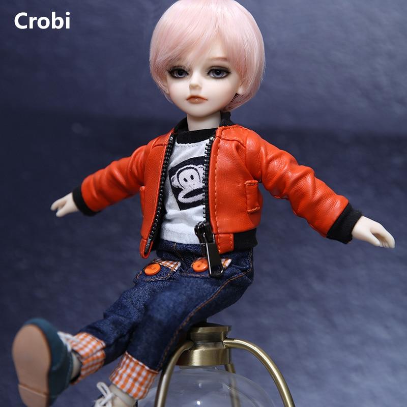 Crobi CB Little Lance muñeca BJD SD 1/6 modelo de cuerpo para niños y niñas Oueneifs, juguetes de resina de alta calidad, tienda de ojos gratis