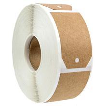 1,15 pulgadas X 2 pulgadas etiqueta kraft para regalo pegatinas/300 etiquetas por rollo/Adhesivo permanente