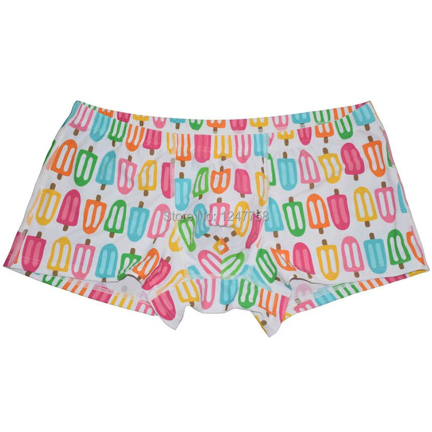 Men Underwear Colorful Boxers Comfy Spandex Boxers Shorts Stretchy Pants Bokserki Cueca Boxer Hombre Calzoncillo Hombre