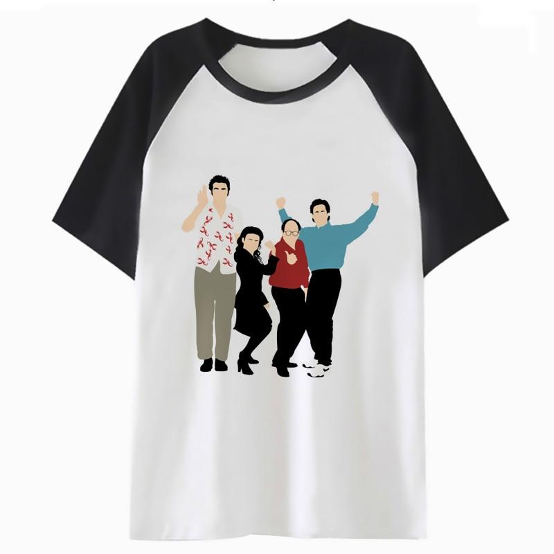 seinfeld t shirt clothing tshirt hip streetwear tee for male funny t-shirt men hop harajuku top H2371