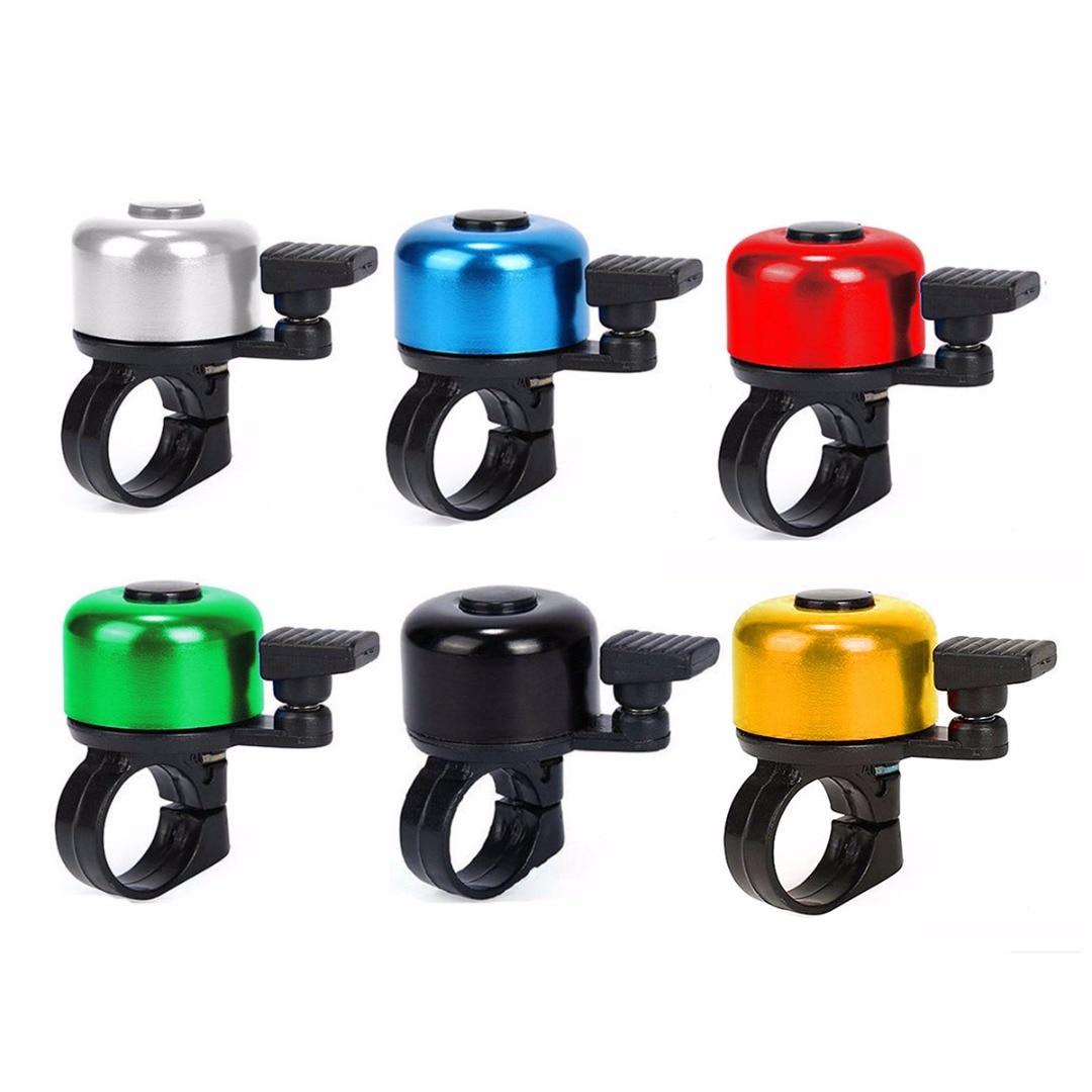 6 видов цветов, алюминиевый сплав, велосипедный руль для велосипеда, велосипедный звонок, детский скутер, мини-сигнализация для безопасности, Аксессуары для велосипеда на открытом воздухе