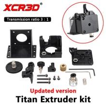XCR3D Titan Extruder 3D Printer Onderdelen Voor E3D V6 Hotend J-Head Bowden Montagebeugel 1.75 Mm Filament 3:1 transmissie Ratio