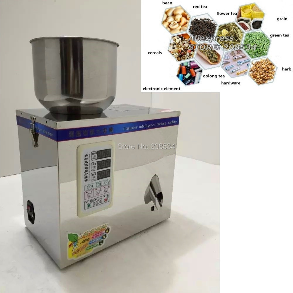 Dispensing machine,tea weighing machine,grain,medicine,seed,salt packing machine,powder filler 1-25g