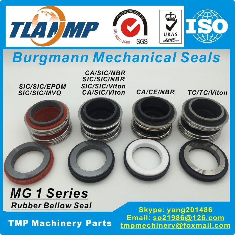 MG1-18 (MG1/18-G60) механические уплотнения Burgmann для водяных насосов с G60 стационарным сиденьем, 109-18 ,MB1-18 резиновые уплотнения