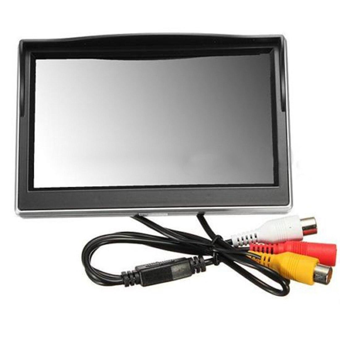 """Новый 5 """"800*480 TFT LCD HD экран монитор для задней камеры заднего вида автомобиля"""