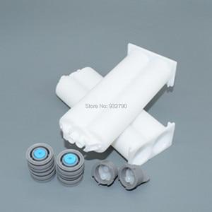 2 Sets 1:1 Structural Adhesive 50ml Cartridge Epoxy Resin AB Glue Acrylic Adhesive Mixing Tube 2-part Hose for Dispensing Gun