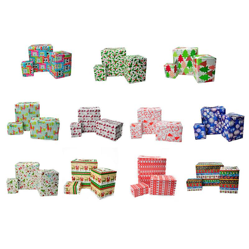 2m*70cm Christmas Colorful Gift Wrapping Paper Holiday Handmade DIY Package Paper Decoration Wallpaper Package Book Paper 1 Roll