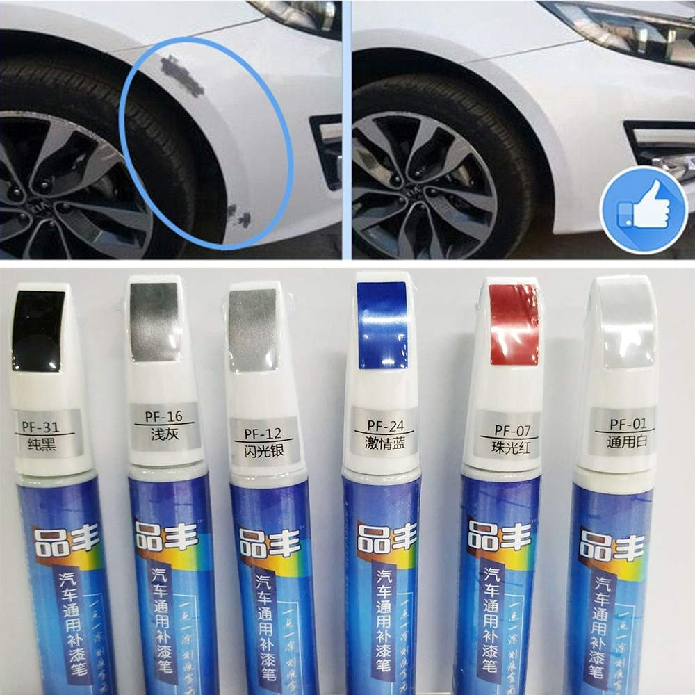 40 types Car Paint Scratch Repair Pen Waterproof Paint Pen Marker Pen Brush Paint Car Tyre Tread Care