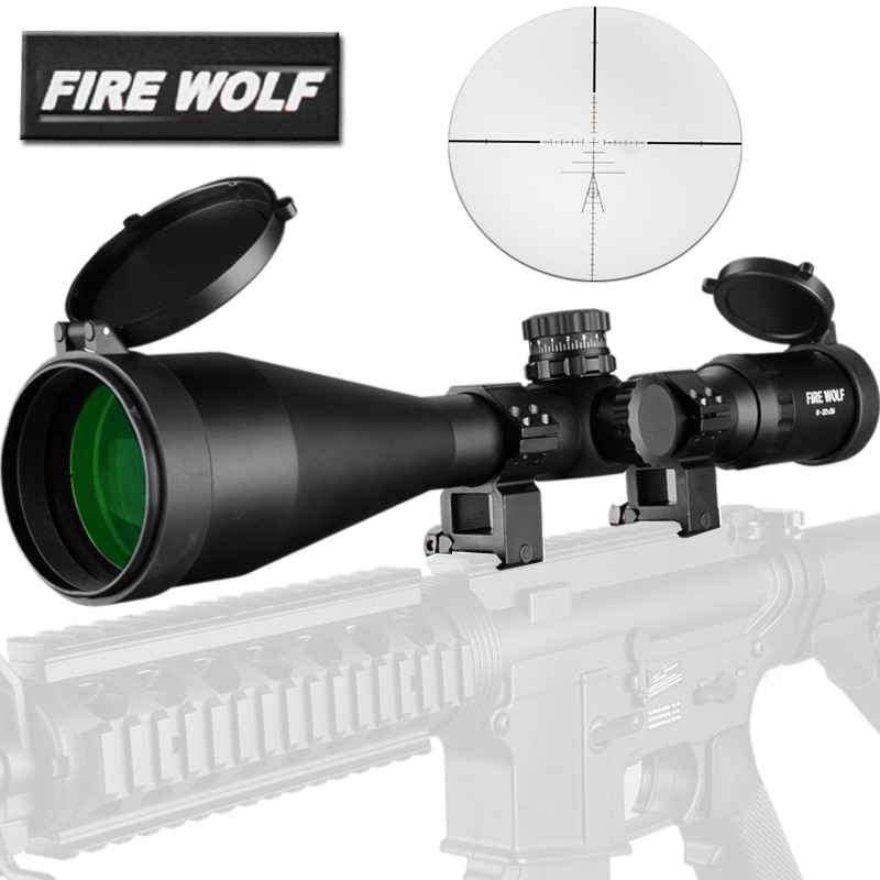 Tactics 8-32X56 Rifle Scope Side Optics Focus Black Matte For Hunting And Outdoor Use Riflescope Telescope Sniper