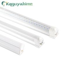 Kaguyahime Цвет T5 T8 Светодиодная трубка 220V 30CM 60CM RGB Люминесцентная лампа LED T8 Лампа Встроенная 6W 10W 20W Ампула Lampara