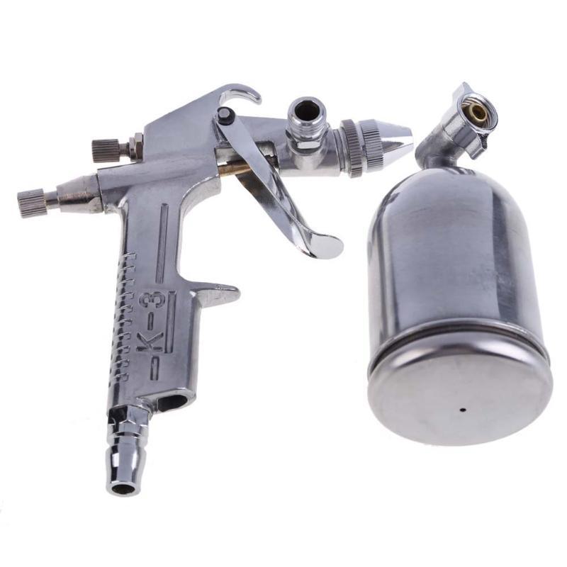 Pistola pulverizadora, cepillo de aire, herramienta de pintura de aleación, 125 ml, aerógrafo de alimentación por gravedad, muebles Penumatic para pintar coches