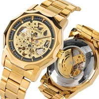 Automatic Men Mechanical Wrist Watch Sport Waterproof Men's Timepiece High Quality Steel Bangle Clock for Male reloj masculino