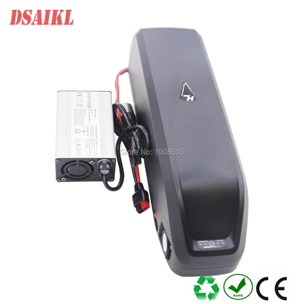 EU US impuesto incluido 1000W bicicleta eléctrica batería 13S5P marca 18650 30Q GA celdas 48V 15Ah 17.5Ah hailong ebike batería