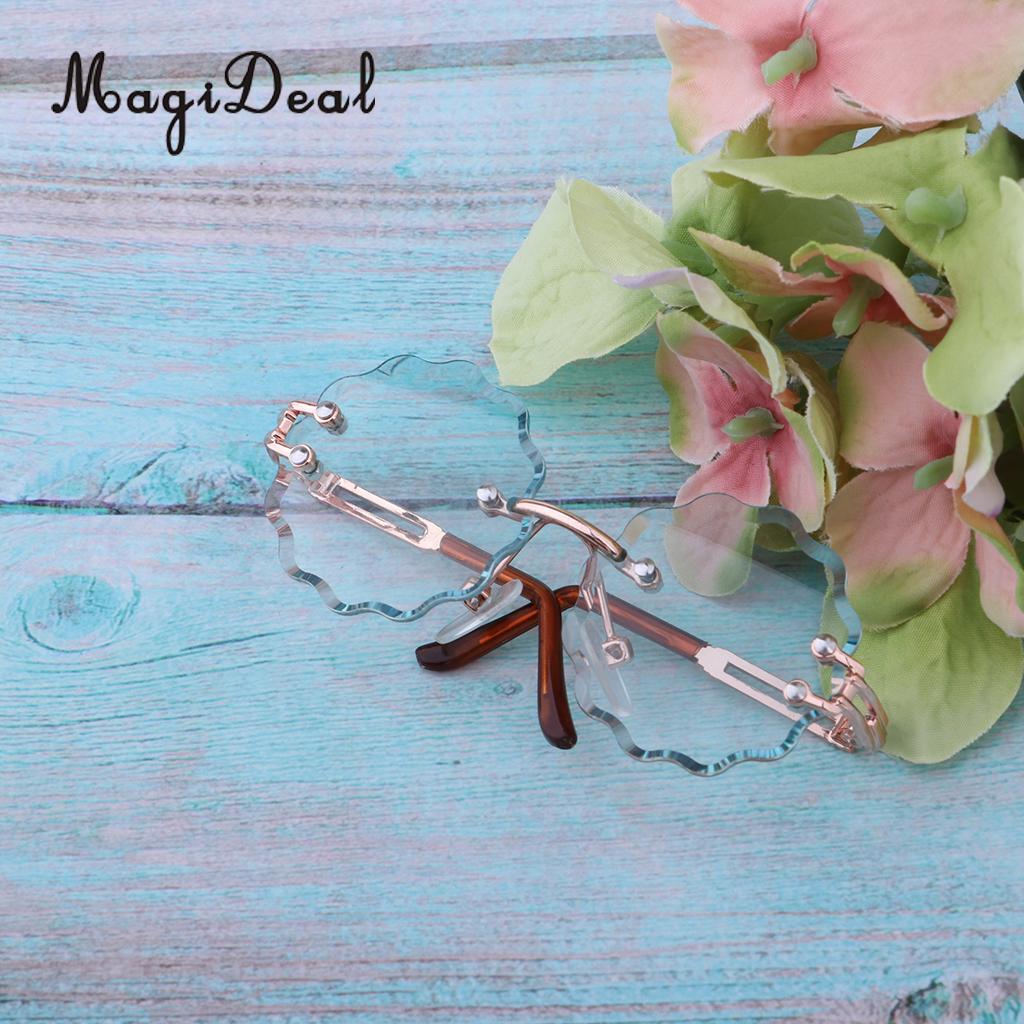 1/6 de moda gafas de sol gafas para 12 muñeca Blythe vestido accesorio