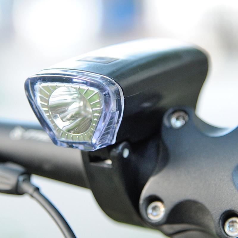 Faro LED brillante de 300 LM para bicicleta, luz delantera de la bicicleta con 3 modos de luz delantera de la bicicleta, linterna LED de ciclismo para bicicleta