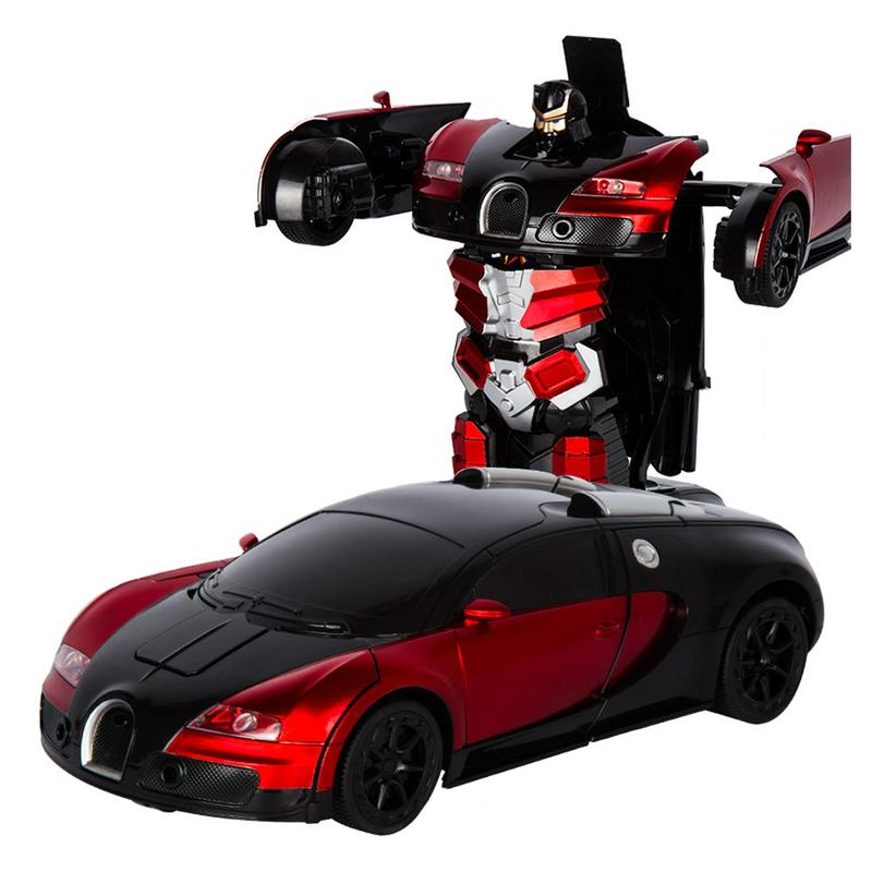 112 gesto de inducción coche electrónico de juguete de transformación RC Control remoto Deformación de robots Control remoto coche batería integrada