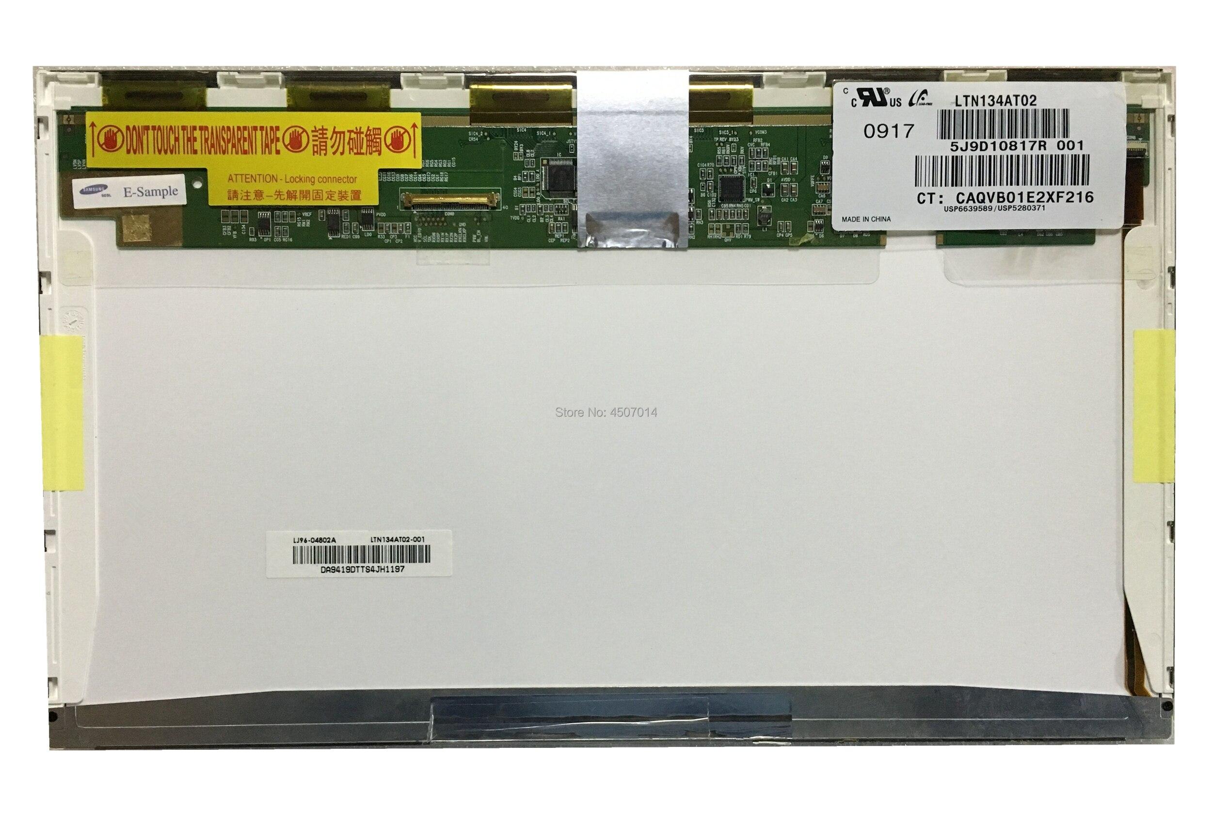 شحن مجاني LTN134AT02 N134B6-L01 L02 13.4 ''inch شاشة لاب توب LCD 1366*768 EDP 30 دبابيس