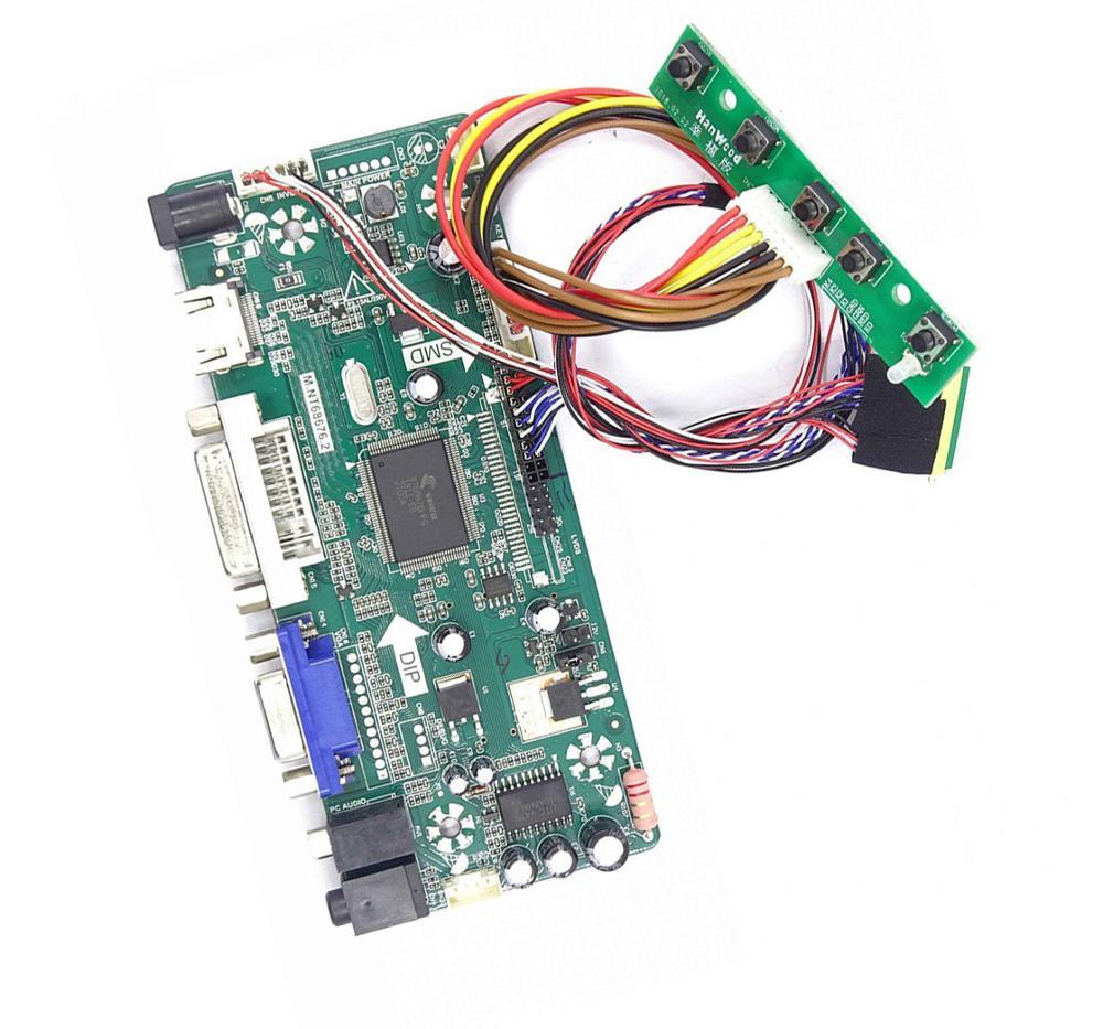 ل B156XTN02.2/0/1/3/4 LED HDMI DVI VGA LCD لتقوم بها بنفسك Aduio المراقب المالي 15.6