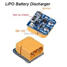 LIPO aspiration batterie au Lithium chargeur batterie pour le stockage à long terme 3 S 4 S 5 S 6 S XT60 Plug batterie RC Drone Protection de puissance