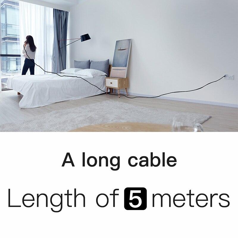 5 M/16Ft Cables USB para iPhone 8 7 6 6s 2A Cable De Carga Rápida Reversible para Apple iPhone cargador de X Xs Cable de sincronización de datos