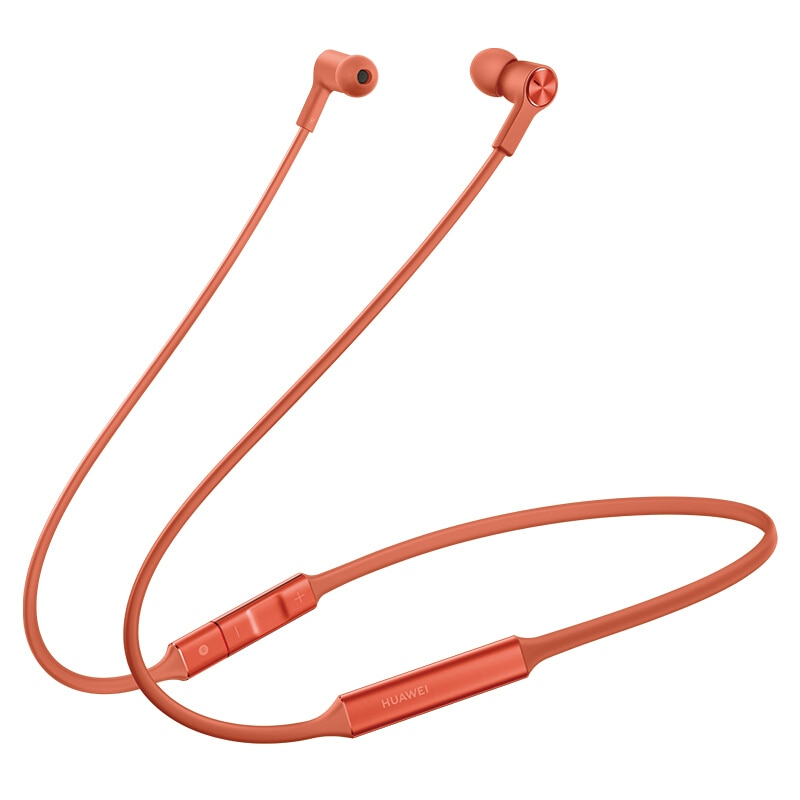 Newest Huawei FreeLace Sport Earphone Huawei Bluetooth wireless Headset Memory Cable Metal Cavity Liquid Silicon MAGNETIC SWITCH