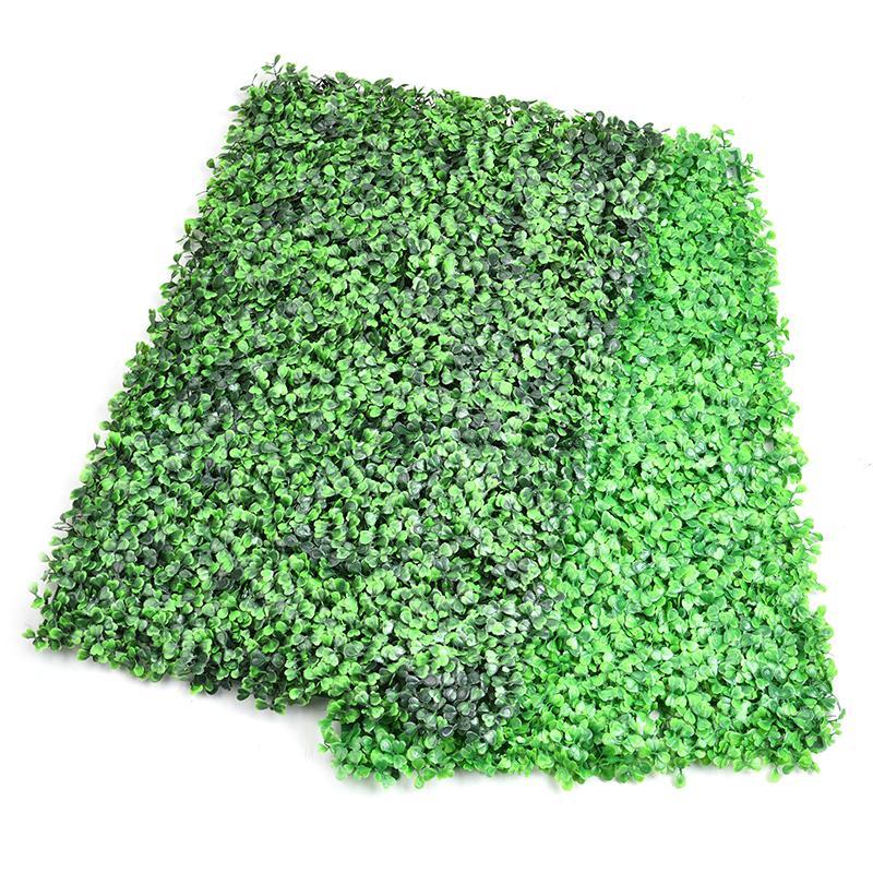 Pantalla de jardín de plástico Artificial de hojas de hiedra, rollos de pared para paisajismo, planta de césped Artificial, cerca de jardín, césped aromático
