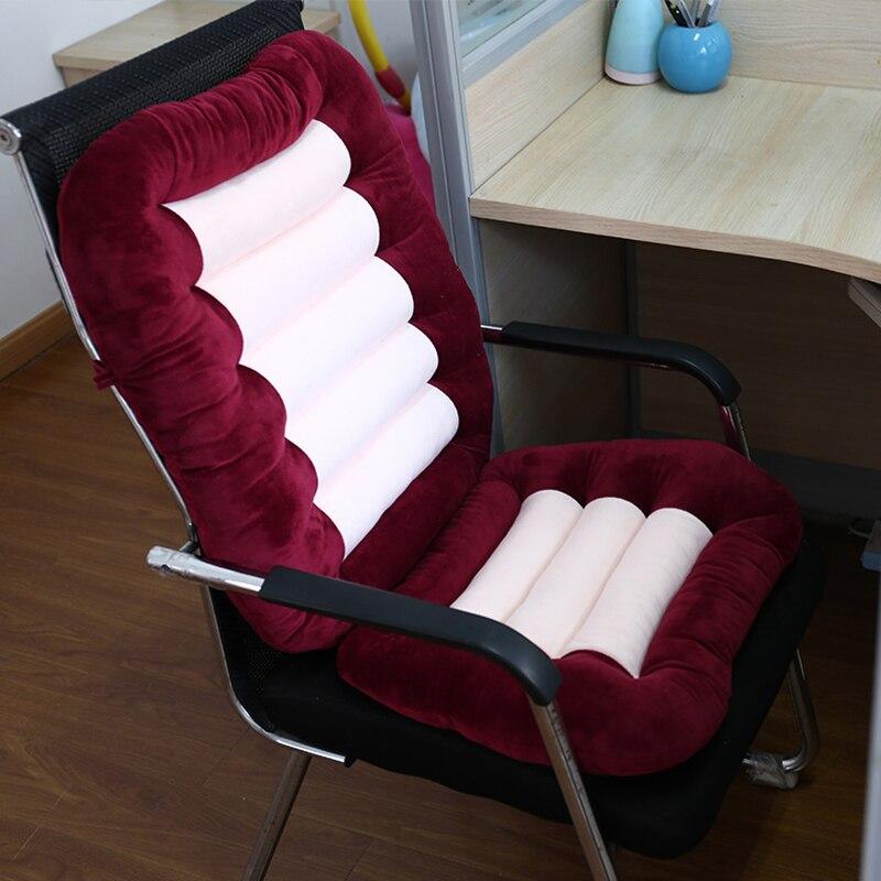 Coxim sofá cadeira de escritório assento do automóvel macio e confortável voltar coxim universal tamanho 3 cor selecionável correio livre