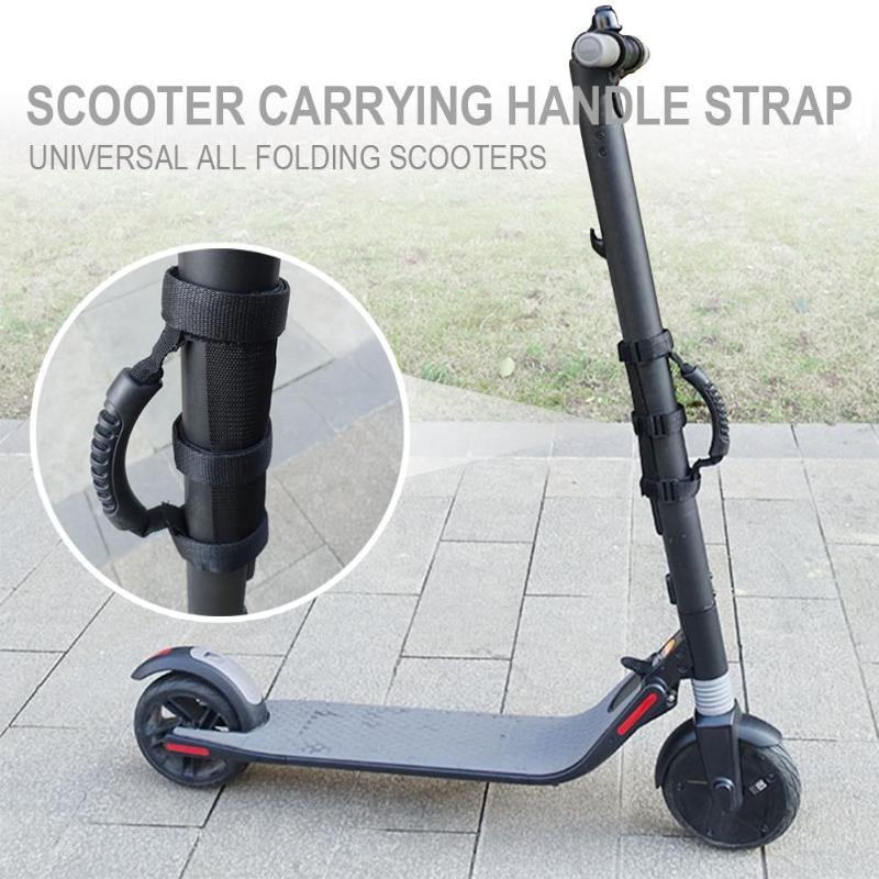 Monopatín eléctrico Scooter correas de hombro de mano correa de Vespa accesorios para Xiaomi M365 Segway Ninebot ES1 ES2 ES4
