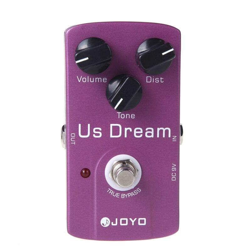 JOYO JF-34 Electric Guitar Effect Pedal US Dream Distortion Guitar Pedal True Bypass Guitar Parts & Accessories