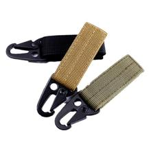 Multifunctional Nylon Carabiner Quickdraws Key Chain Hook Webbing Buckle Hanging Belt Clip Kit Tactical Bag Molle Strap