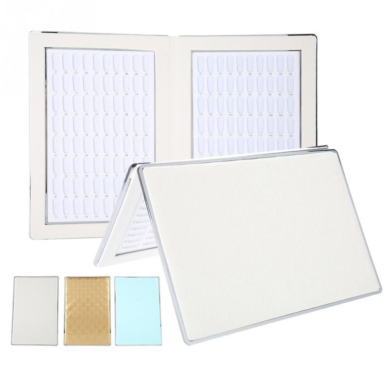 160 ranuras Gel de uñas tarjeta de Color esmalte de uñas Tabla de exhibición libro de arte de uñas que muestra la tabla de manicura herramienta de salón