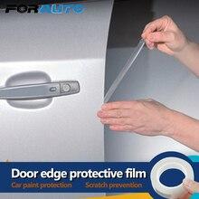 1.5Cm X 5M Auto Deur Randen Guard Anti-Scratch Wrap Sticker Deur Kras Protector Verf Beschermende Film styling Mouldings