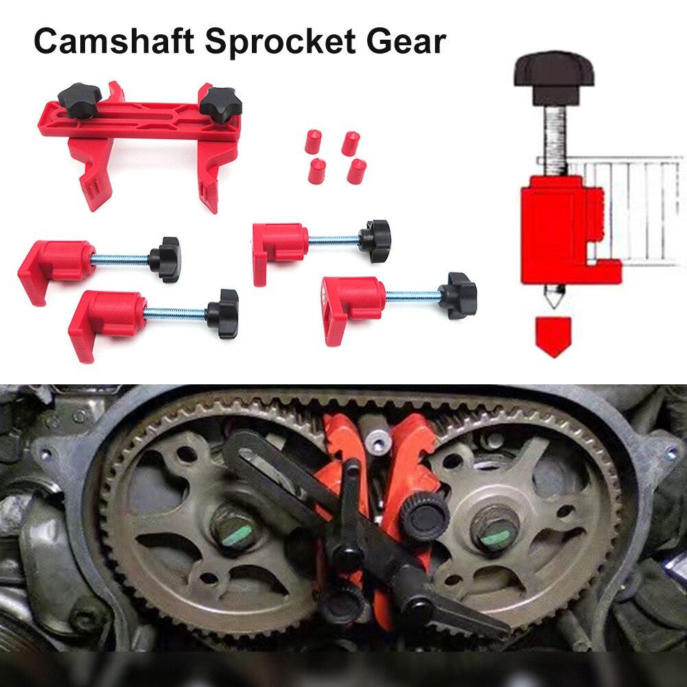 1 Set Universal Auto Car Master Cam Clamp Kit Camshaft Sprocket Gear Cam Lock Tools Car Repair Tools Auto Accessories