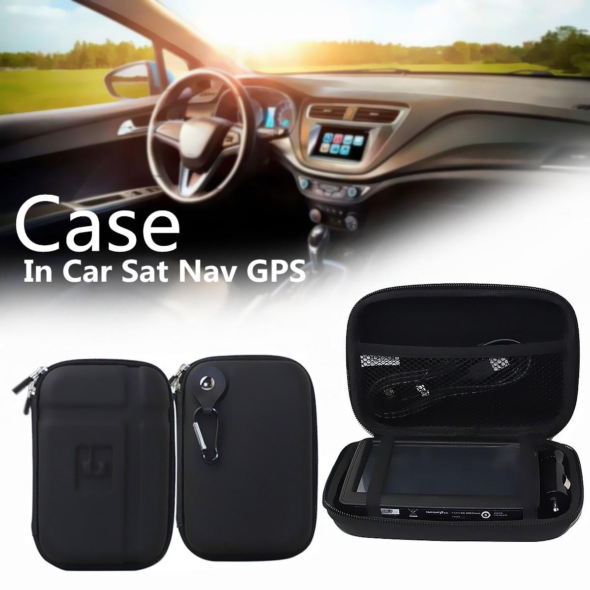 5 Inch Hard Shell EVA Carrying Sat Navigator GPS Storage Case Cover Carry Waterproof Bag for Tom/Tom GO 5100 5000 510 500