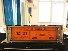 ¡De calidad superior! Pantalla de 12 pines compatible con monitor de pantalla Bluetooth USB de Zona Dual para Peugeot 307 407 408 citroen C4 C5