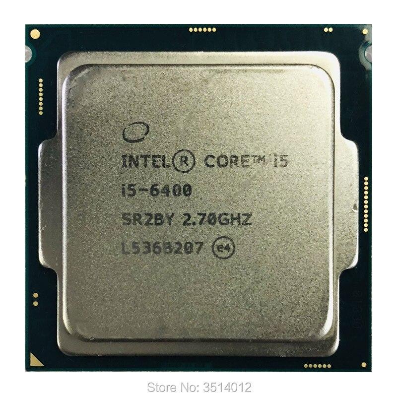 Четырехъядерный процессор Intel Core i5-6400 i5 6400 2,7 ГГц четырехъядерный процессор 6M 65W LGA 1151