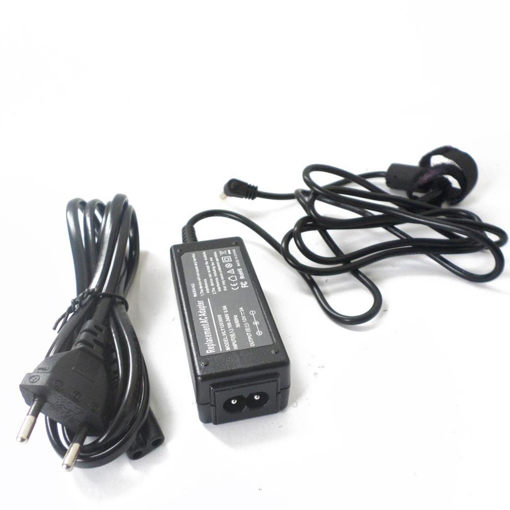 Nuevo cargador/adaptador de CA Compatible para ASUS Eee PC S101 S101H 700 701SD 701SDX 900A 900B 900AX 22 W/36 W 100 ~ 240v cable de alimentación