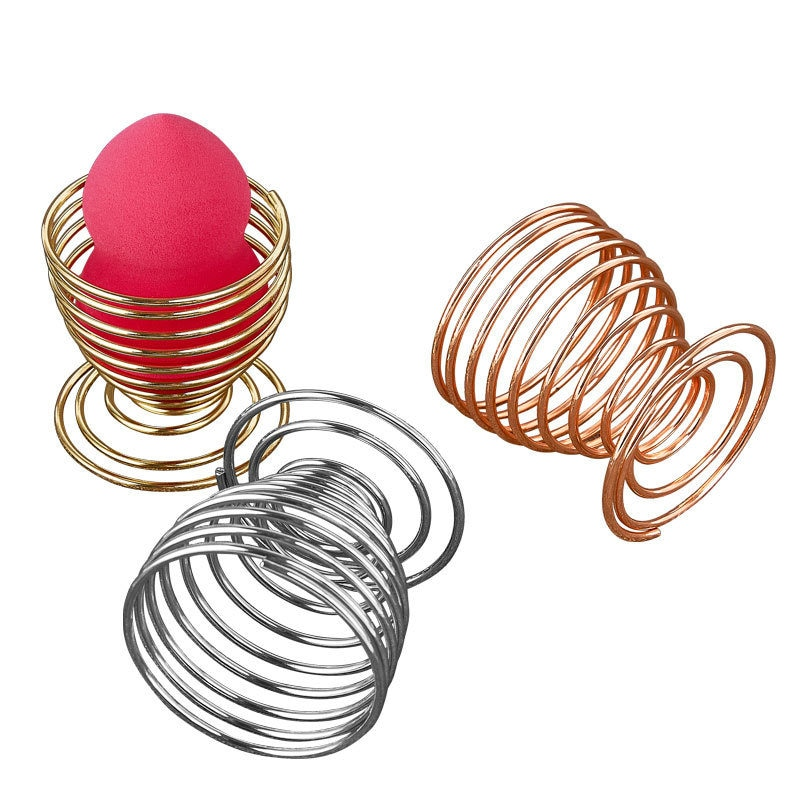 Makeup Puff Rack Sponge Holder Cosmetic Powder Puff Blender Display Drying Stand Egg Sponge Bracket Support Beauty Tool 5*5cm