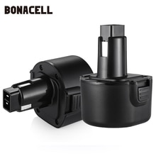 Bonacell 9.6V 3500mAh PS120 güç aracı pil için siyah & Decker BTP1056 A9251 PS120 PS310 PS3350 CD9600 L70